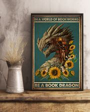 Book Dragon 16x24 Poster lifestyle-poster-3
