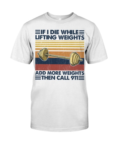 Fitness If I Die While Lifting Weights