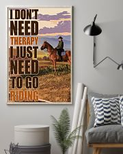 Horse I Don't Need Therapy 16x24 Poster lifestyle-poster-1