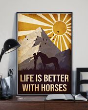 Horse Life Is Betetr 16x24 Poster lifestyle-poster-2