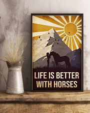 Horse Life Is Betetr 16x24 Poster lifestyle-poster-3
