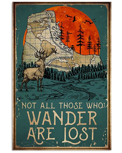 Camping Wander Are Lost
