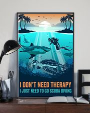 Ocean I Don't Need Therapy 16x24 Poster lifestyle-poster-2