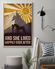 Horse happily Ever After 16x24 Poster lifestyle-poster-1