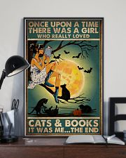 Books And Cats 16x24 Poster lifestyle-poster-2