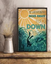 Scuba When Nothing Goes Right Go Down 16x24 Poster lifestyle-poster-3
