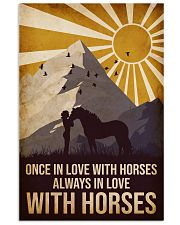 Horse Once In Love 16x24 Poster front
