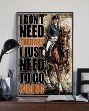 Horse I Don't Need Therapy 16x24 Poster lifestyle-poster-2