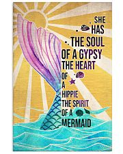Mermaid She Has The Soul Of A Gypsy 16x24 Poster front