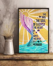 Mermaid She Has The Soul Of A Gypsy 16x24 Poster lifestyle-poster-3