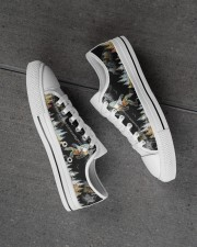 Camping Into The Forest Men's Low Top White Shoes aos-complex-men-white-high-low-shoes-lifestyle-inside-left-outside-left-01