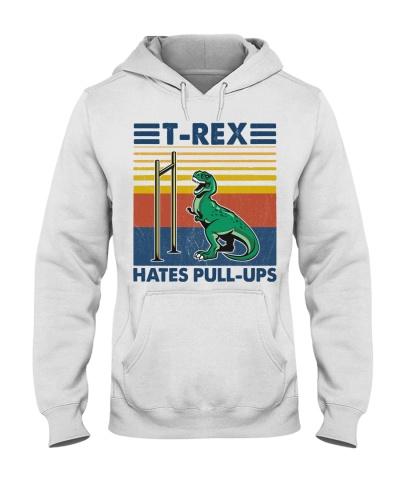 Fitness T-rex Hates Pull-Ups
