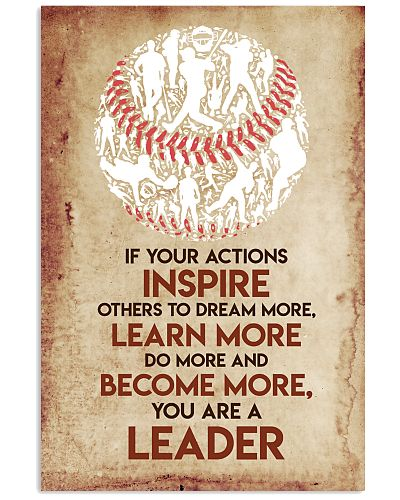 Baseball You Are A Leader