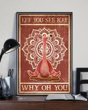 Yoga Eff You See Kay 16x24 Poster lifestyle-poster-2