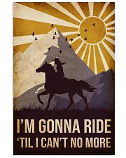 Horse I'm Gonna Ride 16x24 Poster front