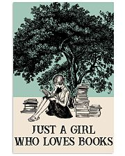 Book Just A Girl 16x24 Poster front