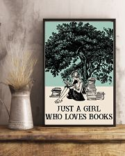 Book Just A Girl 16x24 Poster lifestyle-poster-3