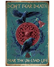 Viking Don't Fear Death 16x24 Poster front