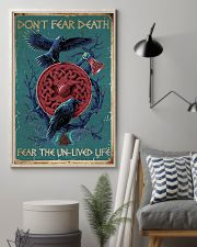 Viking Don't Fear Death 16x24 Poster lifestyle-poster-1