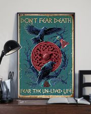 Viking Don't Fear Death 16x24 Poster lifestyle-poster-2