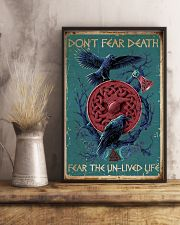 Viking Don't Fear Death 16x24 Poster lifestyle-poster-3