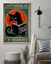 Cat I'm Reading 16x24 Poster lifestyle-poster-1
