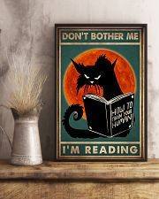 Cat I'm Reading 16x24 Poster lifestyle-poster-3