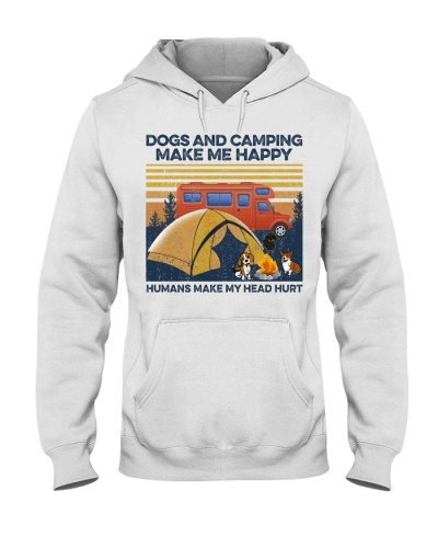 Camping And Dog Make Me Happy
