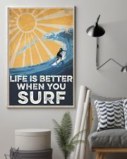 Surfing Life Is Better 16x24 Poster lifestyle-poster-1
