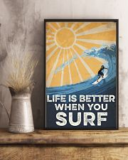 Surfing Life Is Better 16x24 Poster lifestyle-poster-3