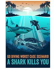 Ocean Go Diving 16x24 Poster front