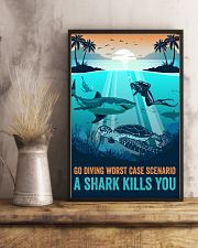 Ocean Go Diving 16x24 Poster lifestyle-poster-3