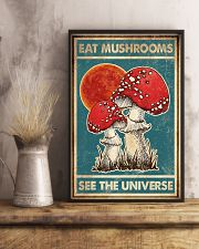 Eat Mushroom See The Universe 16x24 Poster lifestyle-poster-3