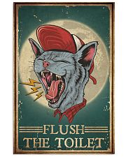 Cat Flush The Toilet 16x24 Poster front