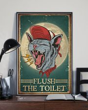 Cat Flush The Toilet 16x24 Poster lifestyle-poster-2