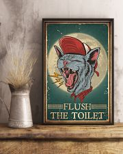 Cat Flush The Toilet 16x24 Poster lifestyle-poster-3