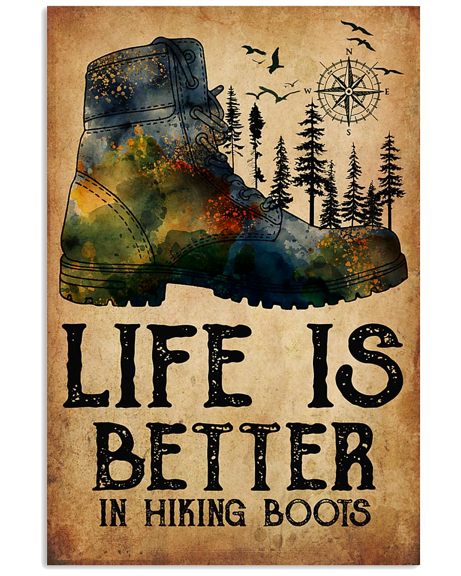 Camping Life Is Better 16x24 Poster