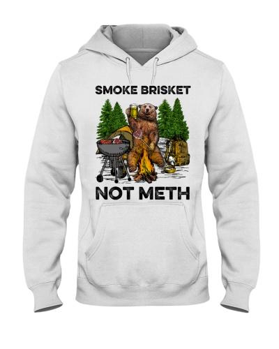 Camping Smoke Brisket Not Meth