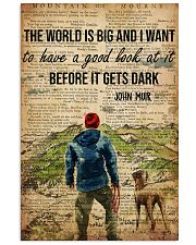 Camping The World Is Big 16x24 Poster front