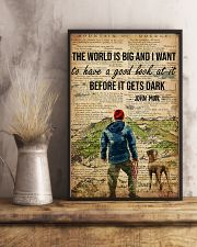 Camping The World Is Big 16x24 Poster lifestyle-poster-3