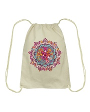 Mandala Shirt Drawstring Bag tile