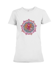 Mandala Shirt Premium Fit Ladies Tee tile