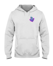 Llama Heart Hooded Sweatshirt tile