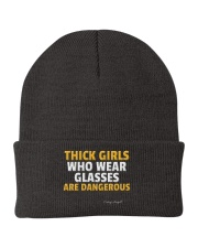 Thick Girls Are Dangerous Knit Beanie thumbnail