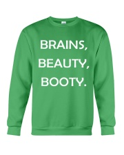 Brains Beauty and Booty Crewneck Sweatshirt thumbnail