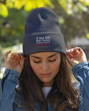 The Best Combo Knit Beanie garment-embroidery-beanie-lifestyle-07