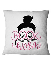 Book Worm High Quality Classic Tee Square Pillowcase thumbnail