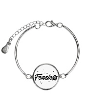 Fearless High Quality Classic Tee Metallic Circle Bracelet front
