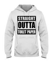 Outta Toilet Paper Hooded Sweatshirt thumbnail