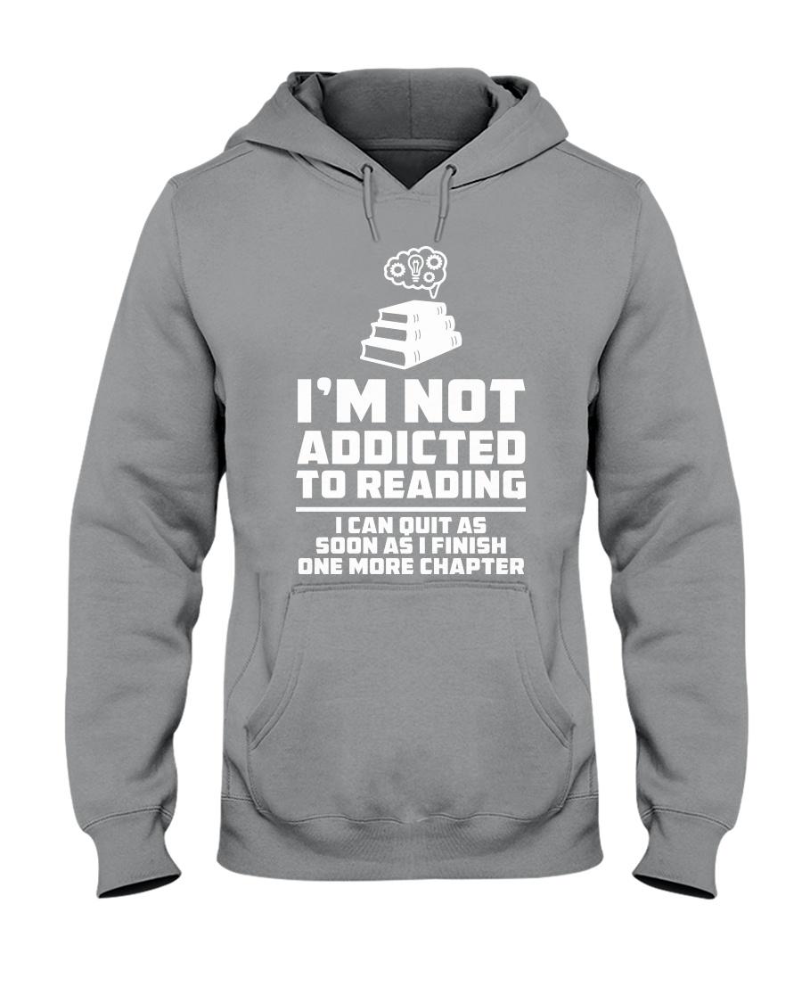 I'm not addicted High Quality Classic Tee Hooded Sweatshirt